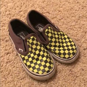 Boys Vans Checkered